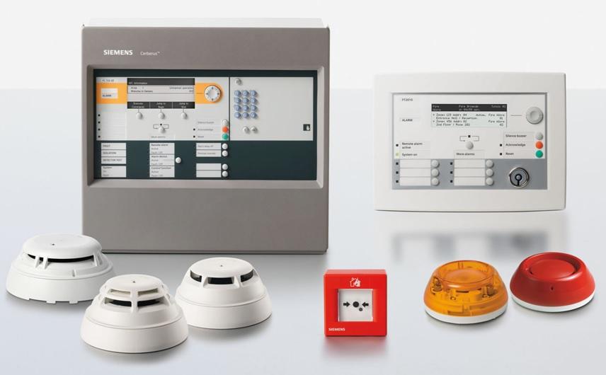 Vatrodojava Siemens Cerberus Pro