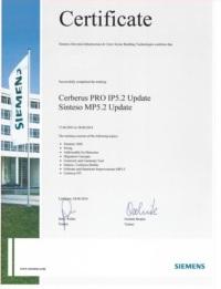 CerberusPro certifikat web V2
